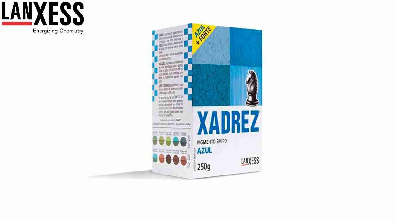 PIGMENTO XADREZ LANXESS 250G AZUL
