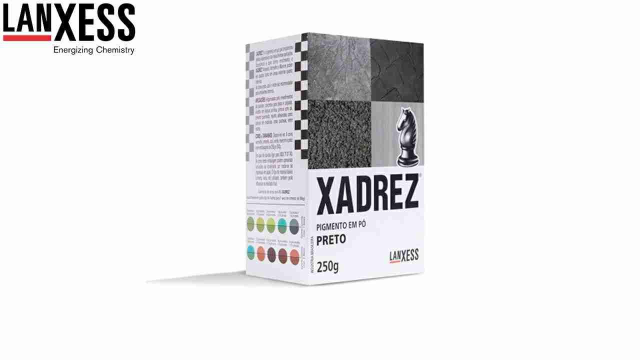 PIGMENTO XADREZ LANXESS 250G PRETO