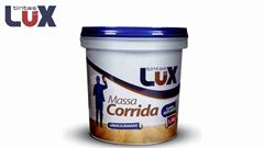 MASSA CORRIDA TINTAS LUX GALÃO COM 5,4 L