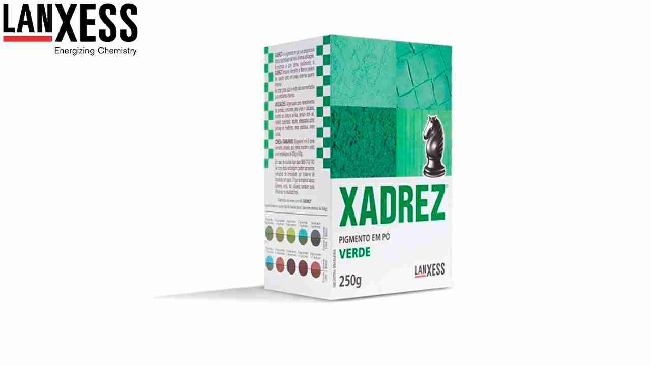 PIGMENTO XADREZ LANXESS 250G VERDE