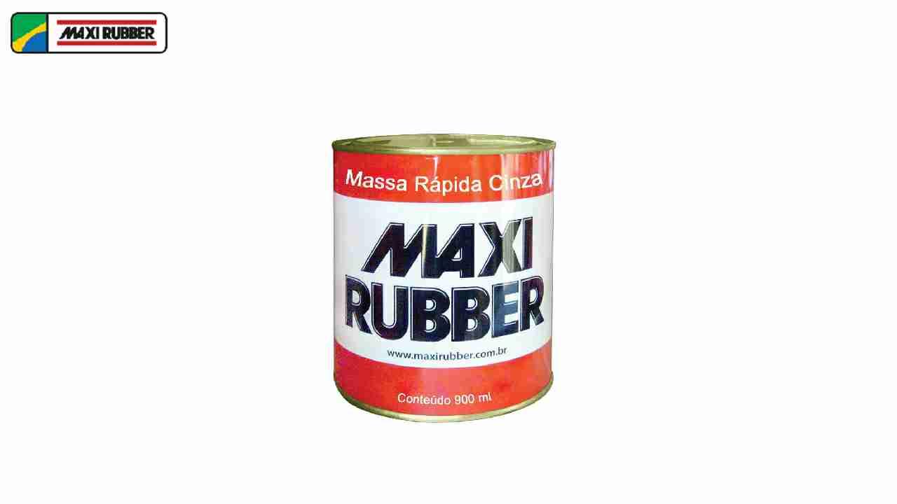 MASSA RAPIDA MAXI RUBBER CZ 1/4 1,25KG