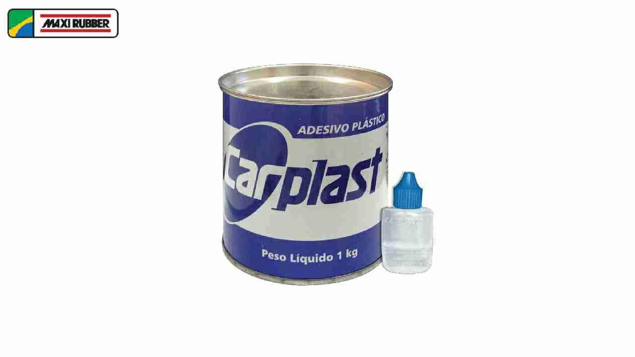 MASSA PLASTICA CARPLAST CINZA 400G+CAT.