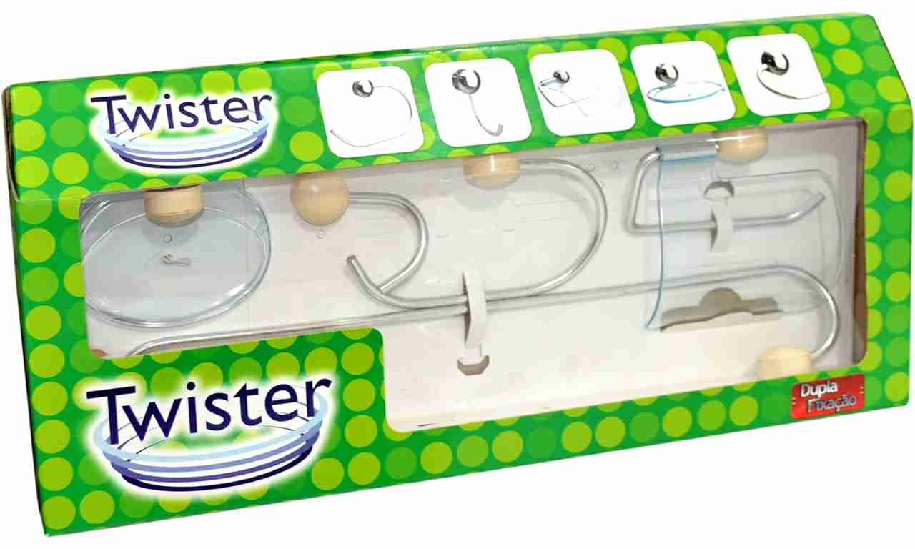 KIT PARA BANHEIRO STEELTWISTER 5 PC BEGE