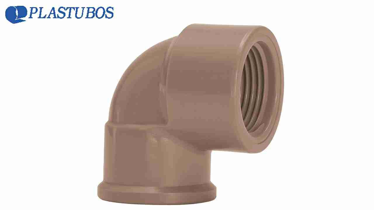 JOELHO 90 LR PLASTUBOS 25X1/2