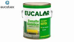 ESMALTE SINTÉTICO EUCATEX EUCALAR GL3,6L PRETO