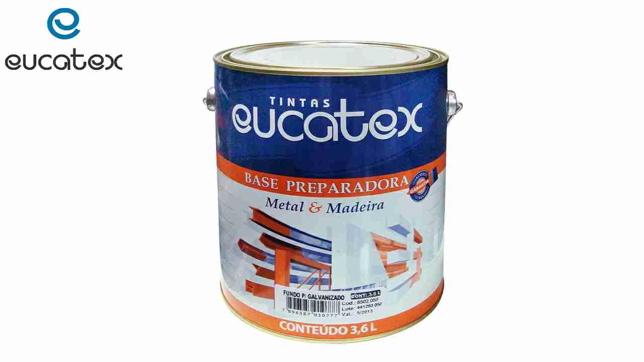 FUNDO PARA GALVANIZADO EUCATEX GL3,6L