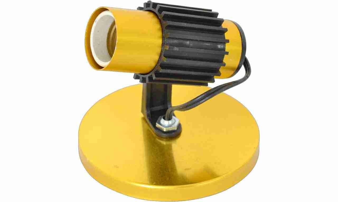 SPOT ALUM ENERLUX TUB SIM SOQ.P C/AL DOU