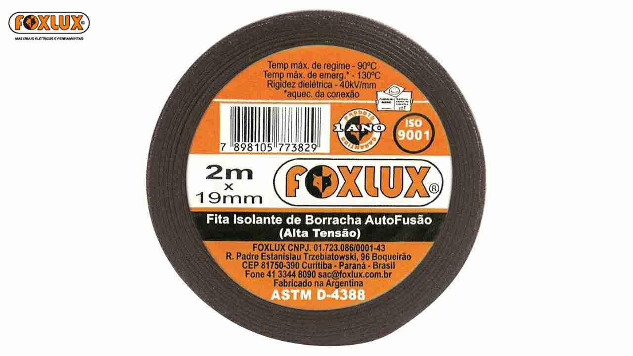 FITA ISOLANTE FOXLUX AUTO FUSAO 19MMX05M