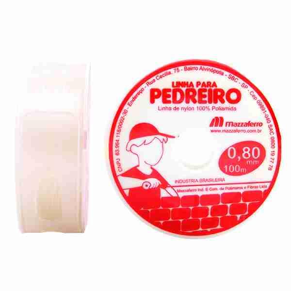 LINHA PEDREIRO MAZZAFERRO C/100MTS BR