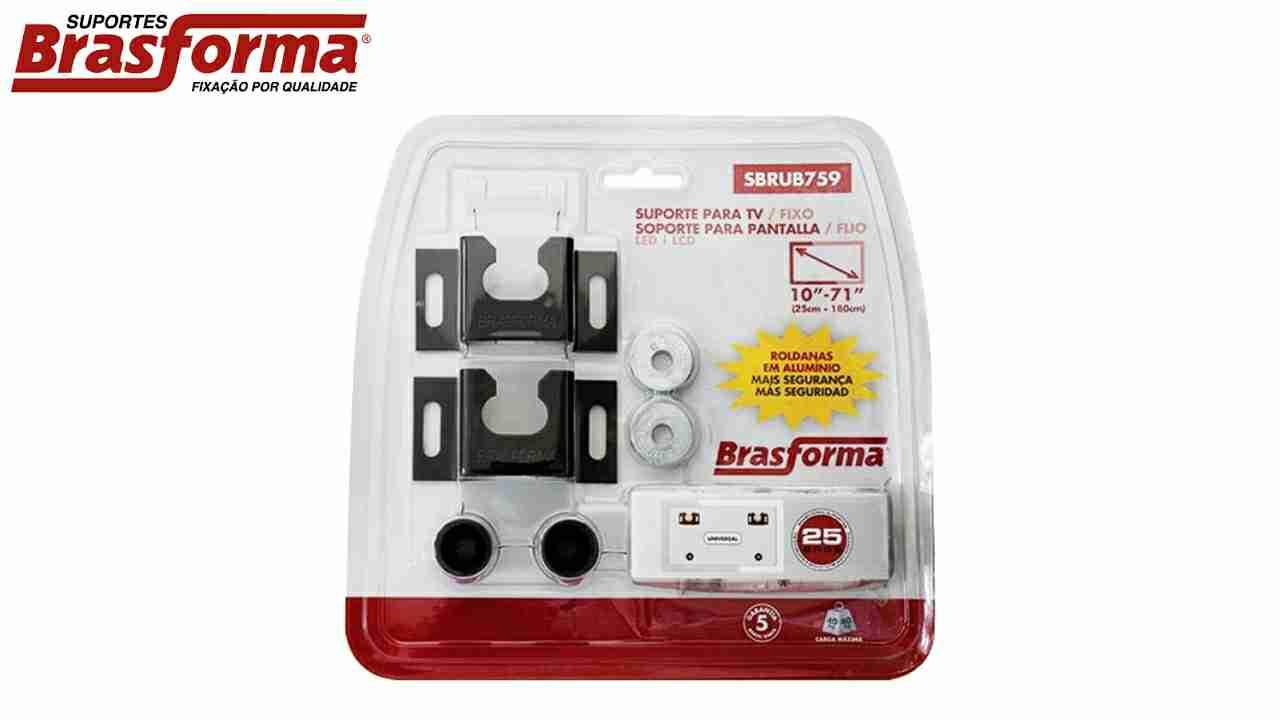 SUPORTE P/TV BRASFORMA LCD/LED 10-71