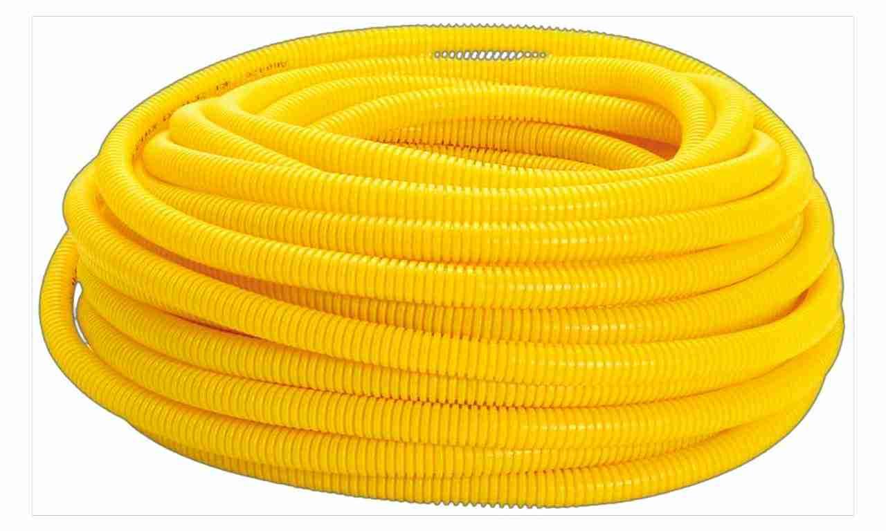 ELETRODUTO CORRUGADO PLASTMAN  1  AMARELO ROLO COM C/50M