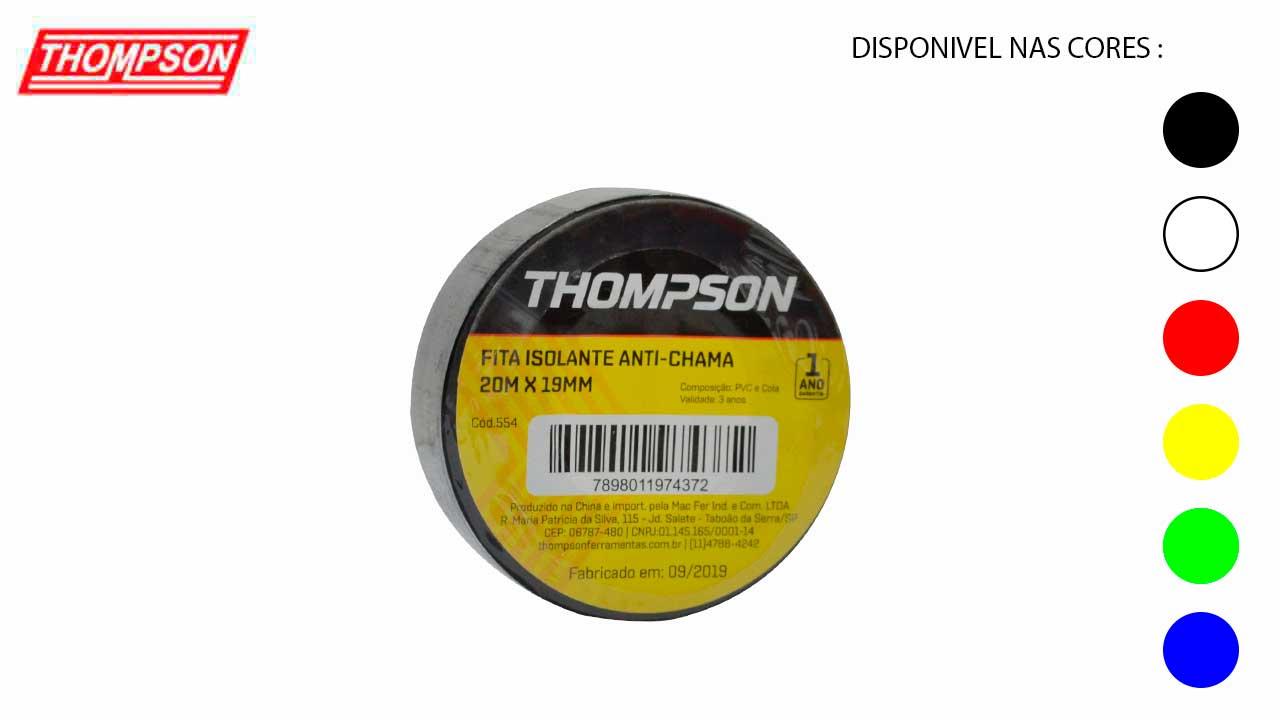 FITA ISOLANTE THOMPSON 19MMX05M