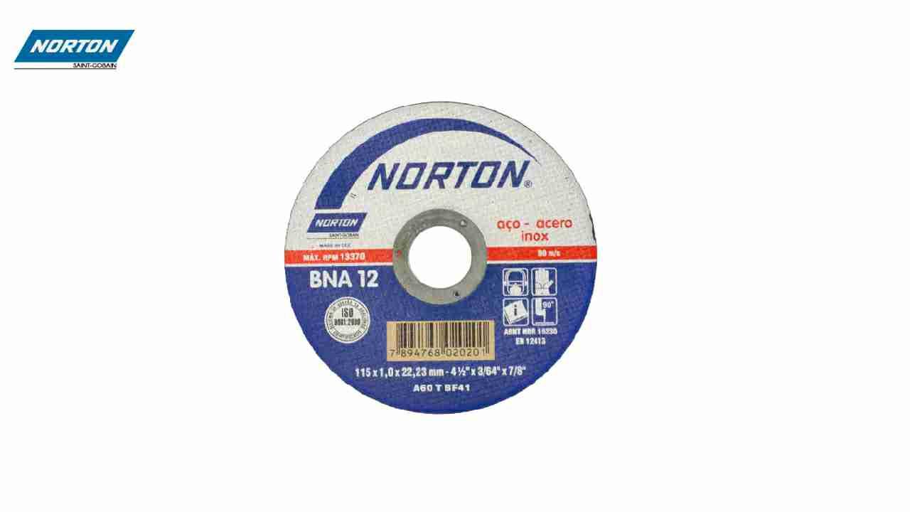 DISCO CORTE NORTON INOX 7X1/16X7/8