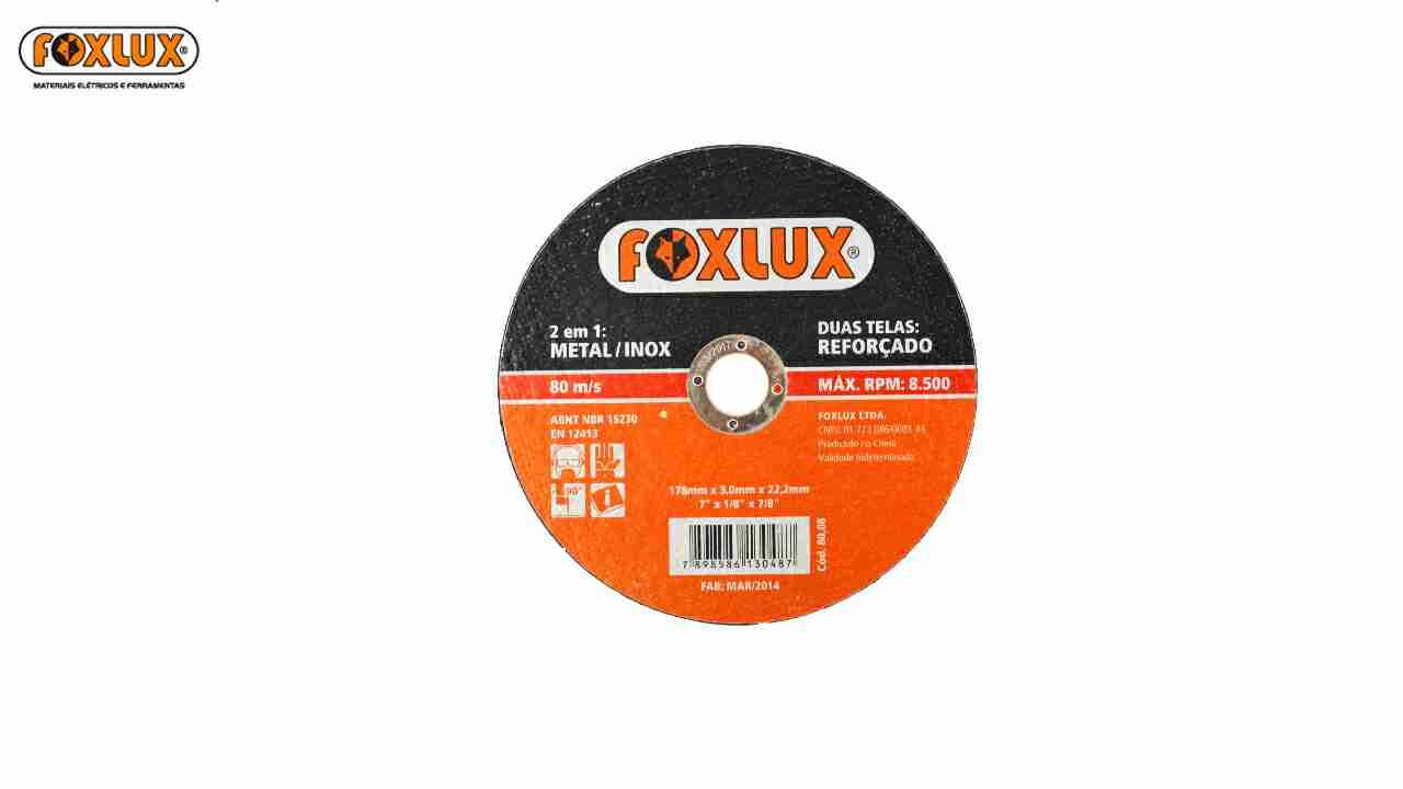DISCO CORTE FAMASTIL INOX 4.1/2X3/64X7/8