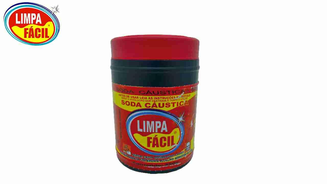 SODA CAUSTICA LIMPA FACIL 350G