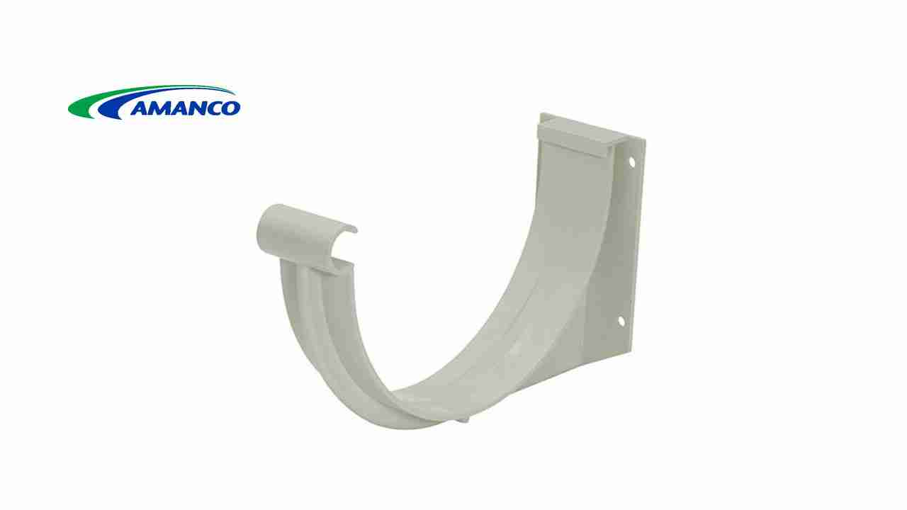 SUPORTE P/CALHA AMANCO DE PVC PLUVIAS