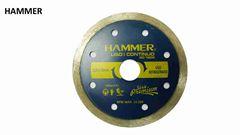 DISCO DIAMANTADO HAMMER CONTINUO LISO 110MMX20MM