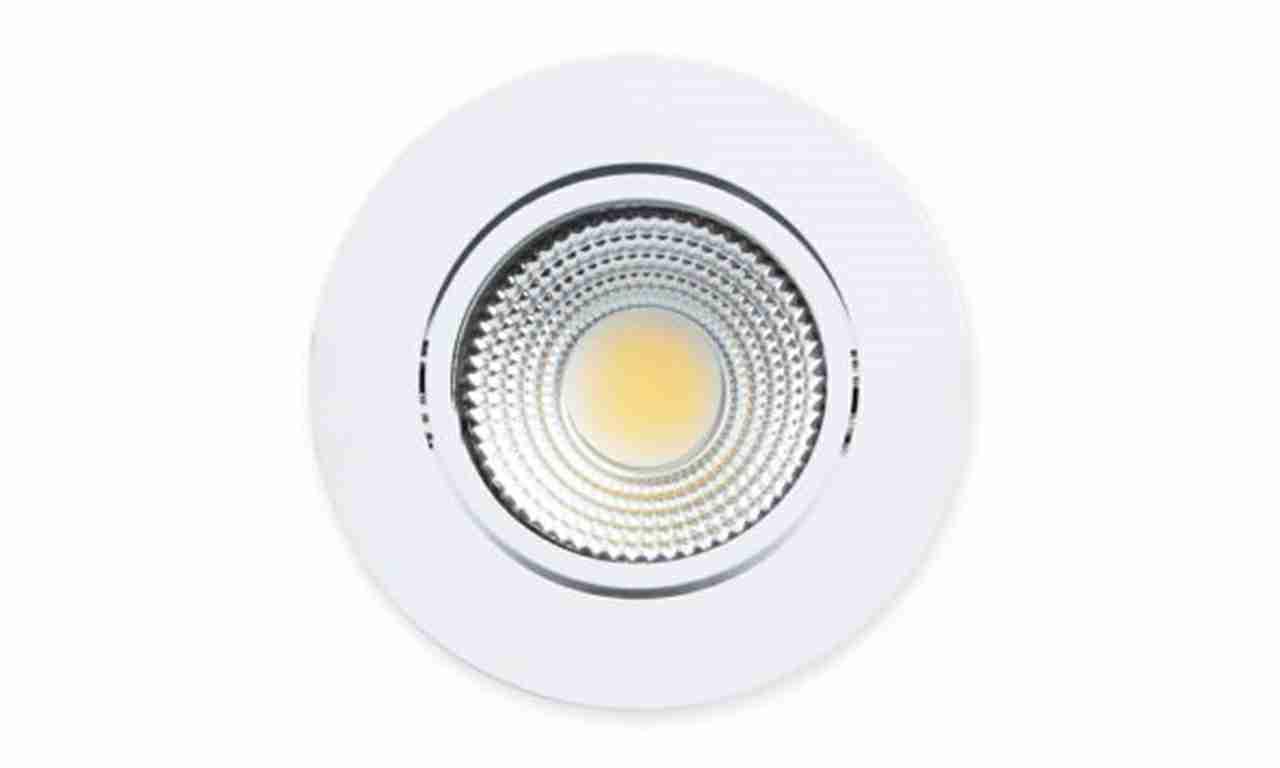 SPOT LED LLUM EMB.RED.3W BR 7,5CM BIV.