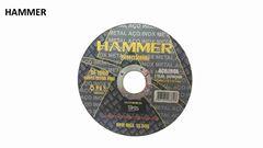 DISCO CORTE HAMMER AÇO INOX 4.1/2