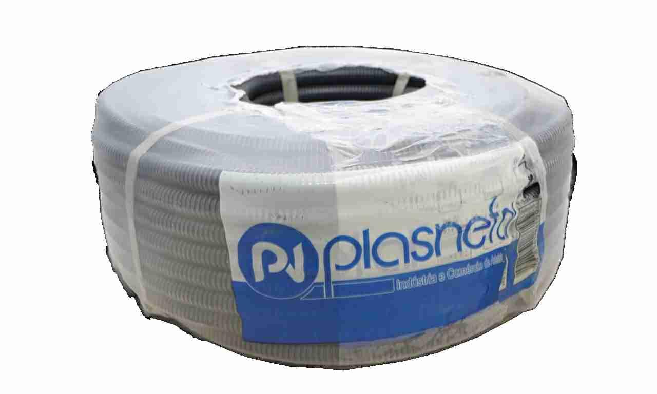 ELETRODUTO CORRUGADO PLASNETAL 1/2 PRETO ROLO COM C/50M
