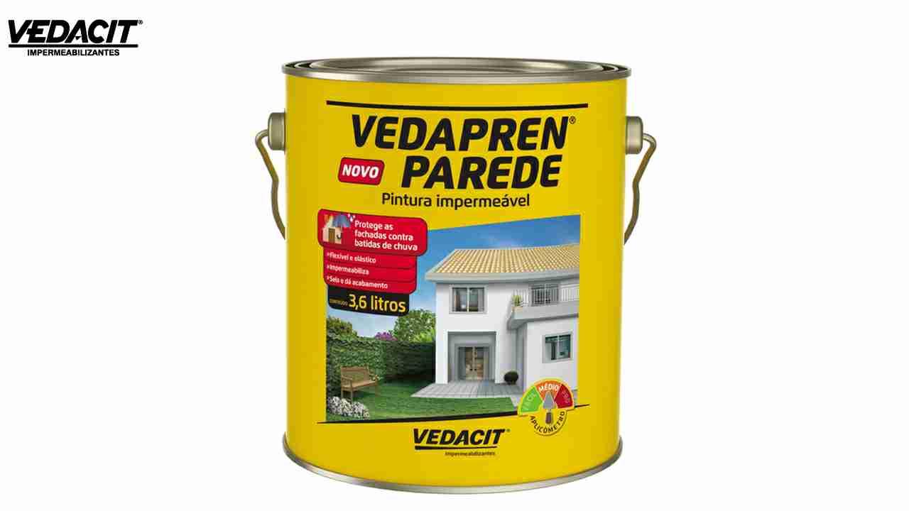 VEDACIT VEDAPREN PAREDE BRANCO GL 3,6L