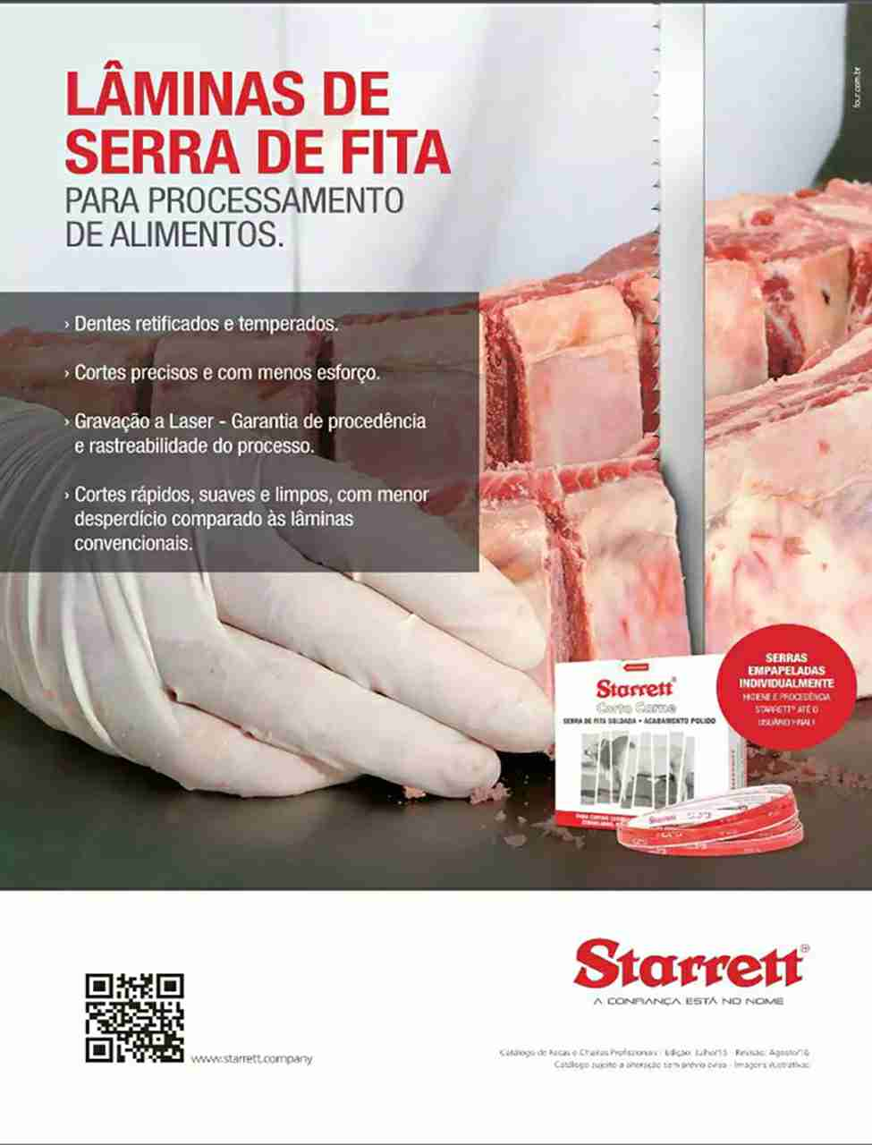 SERRA FITA STARRET 16X0.46  5/8X018 3,15