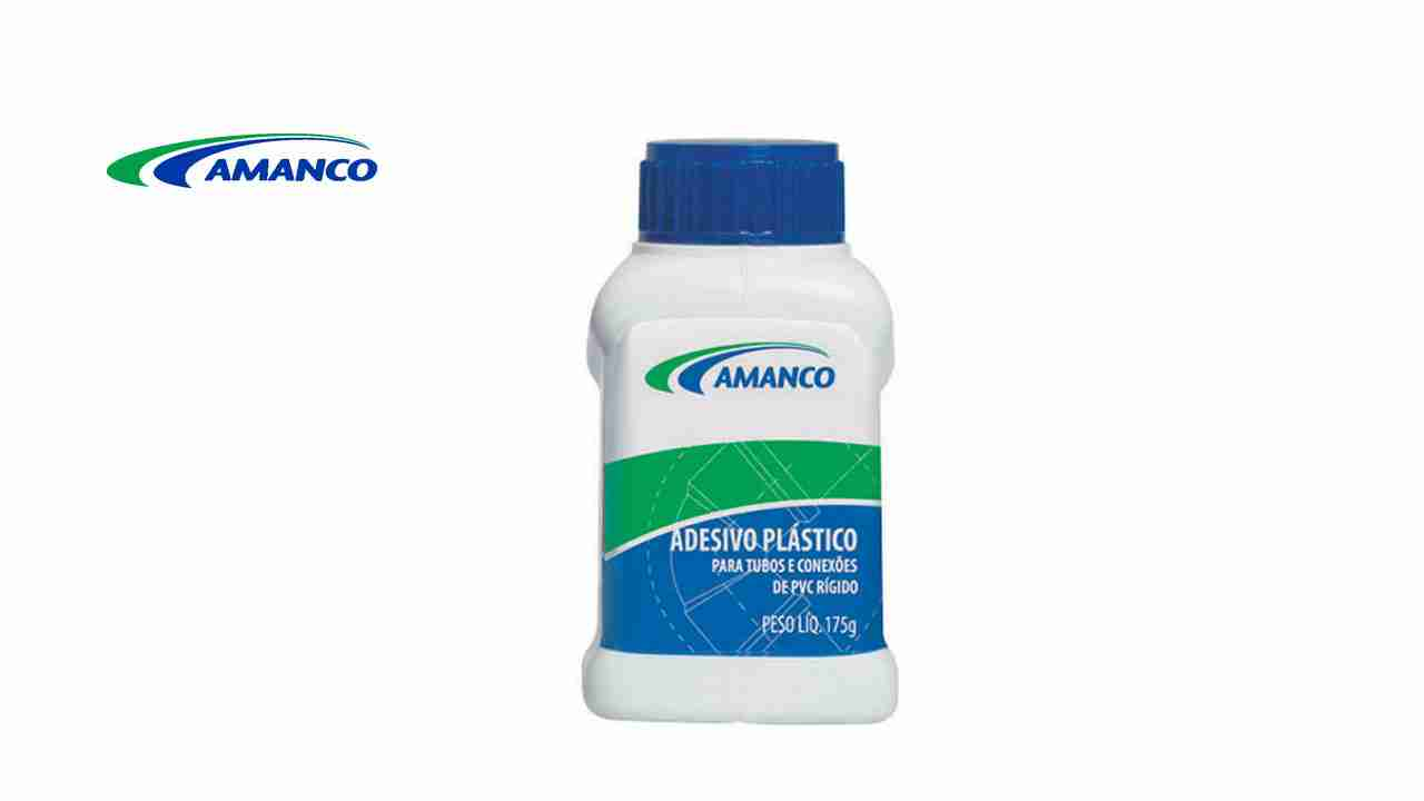 ADESIVO PLÁSTICO AMANCO 175G  C/PINCEL