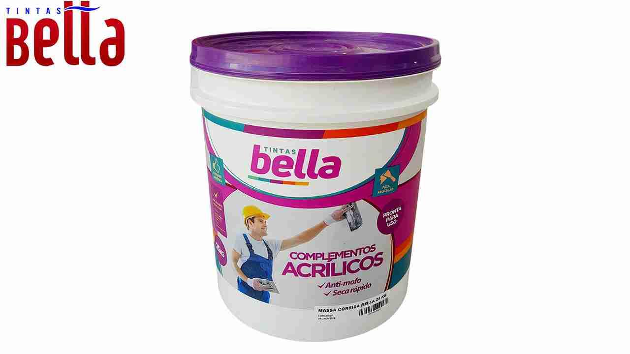 MASSA CORRIDA TINTAS BELLA BALDE 16L C/25KG