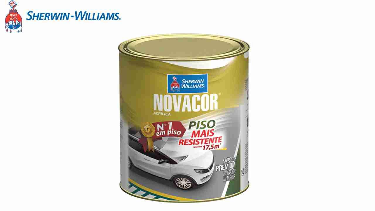 S.W.NOVACOR PISO 900ML AMARELO
