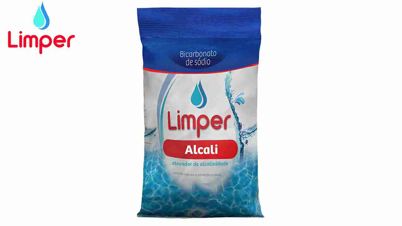 LIMPER BICARBONATO DE SÓDIO ALCALI C/2KG