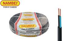 CABO NAMBEIFLEX PP 2X1,00 500V ROLO C/100M