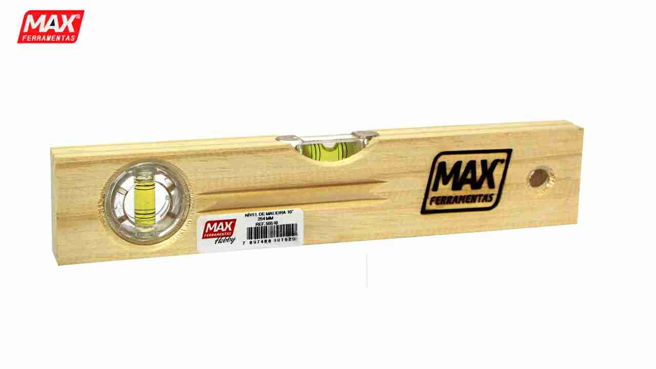 NIVEL DE MADEIRA MAX HOBBY N°14 35CM
