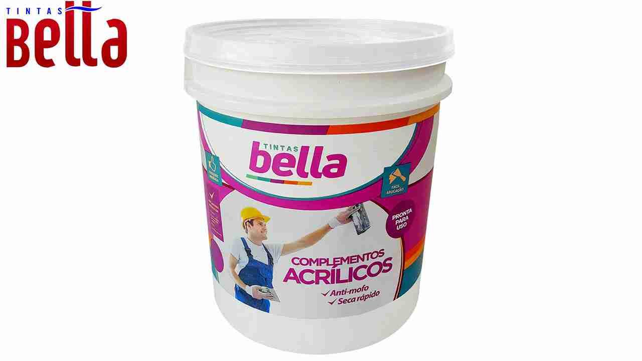 SELADOR ACRÍLICO TINTAS BELLA BRANCO GL 3,6L