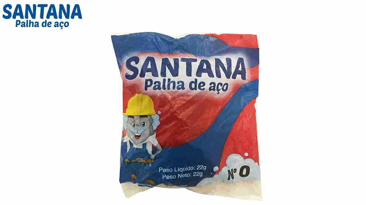 PALHA DE ACO SANTANA N°0 C/20