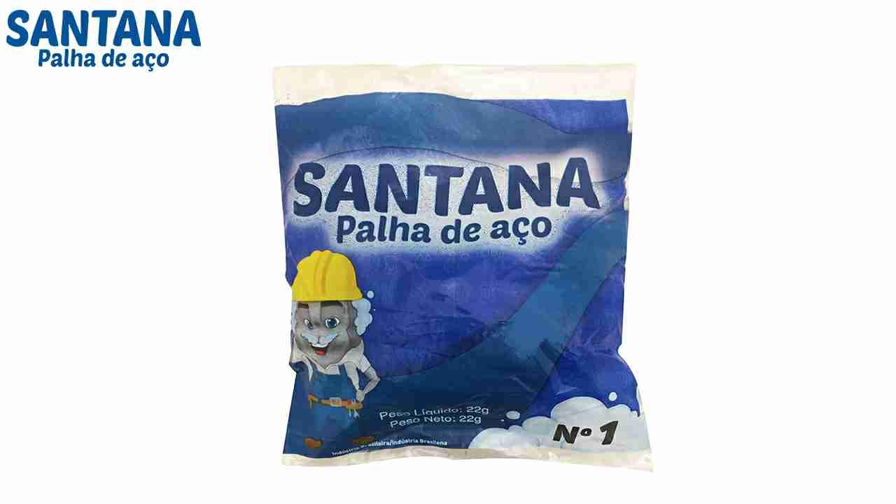 PALHA DE ACO SANTANA N°1 C/20