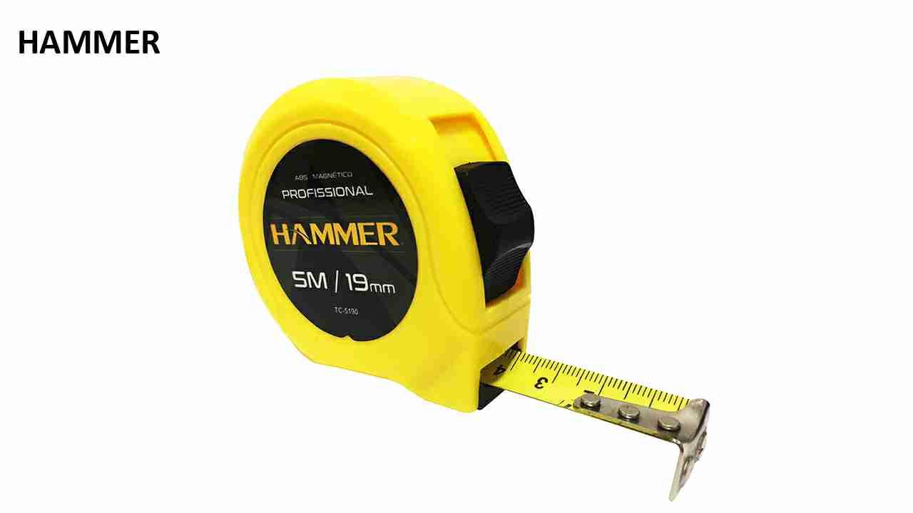TRENA HAMMER PROFISSIONAL 7.5MX25MM