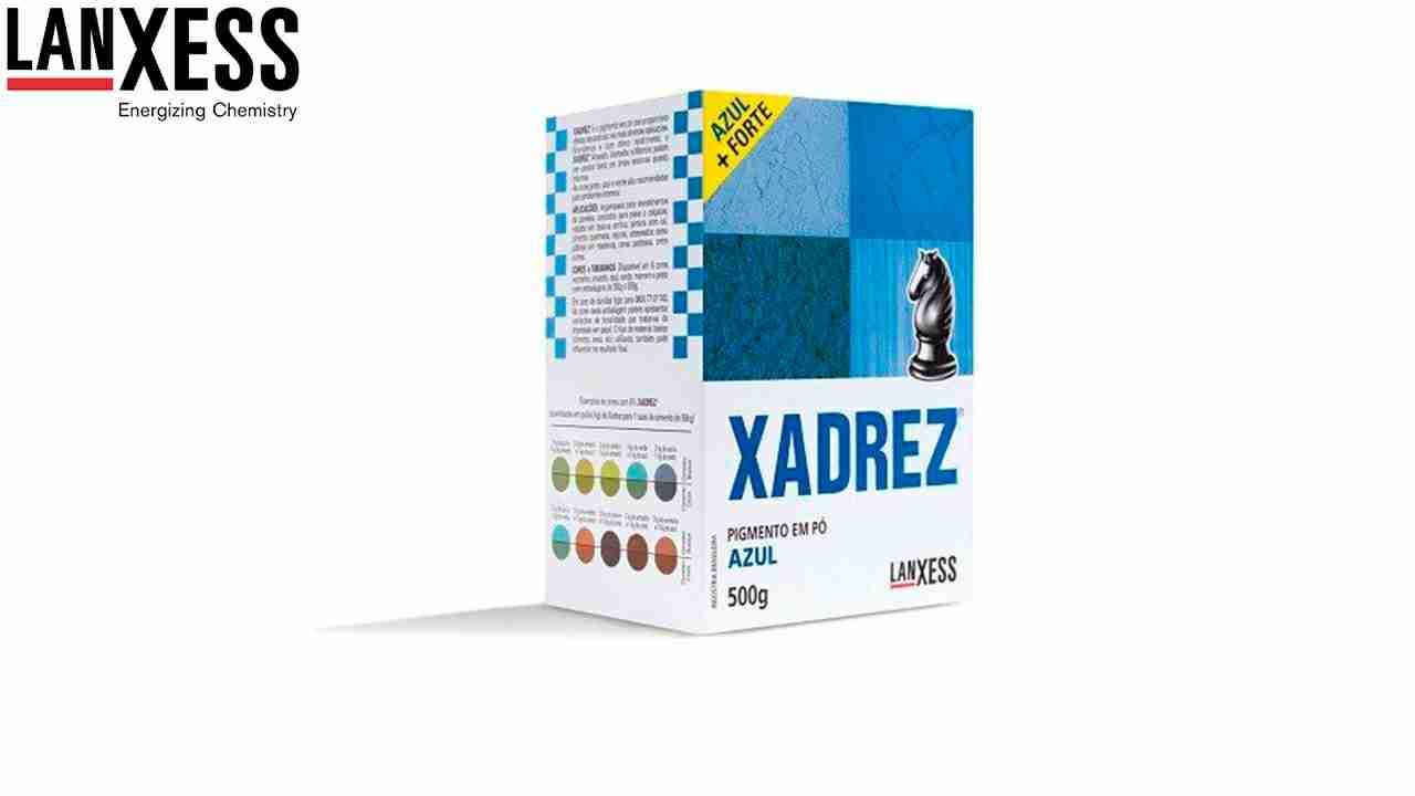 PIGMENTO XADREZ LANXESS 500G AZUL