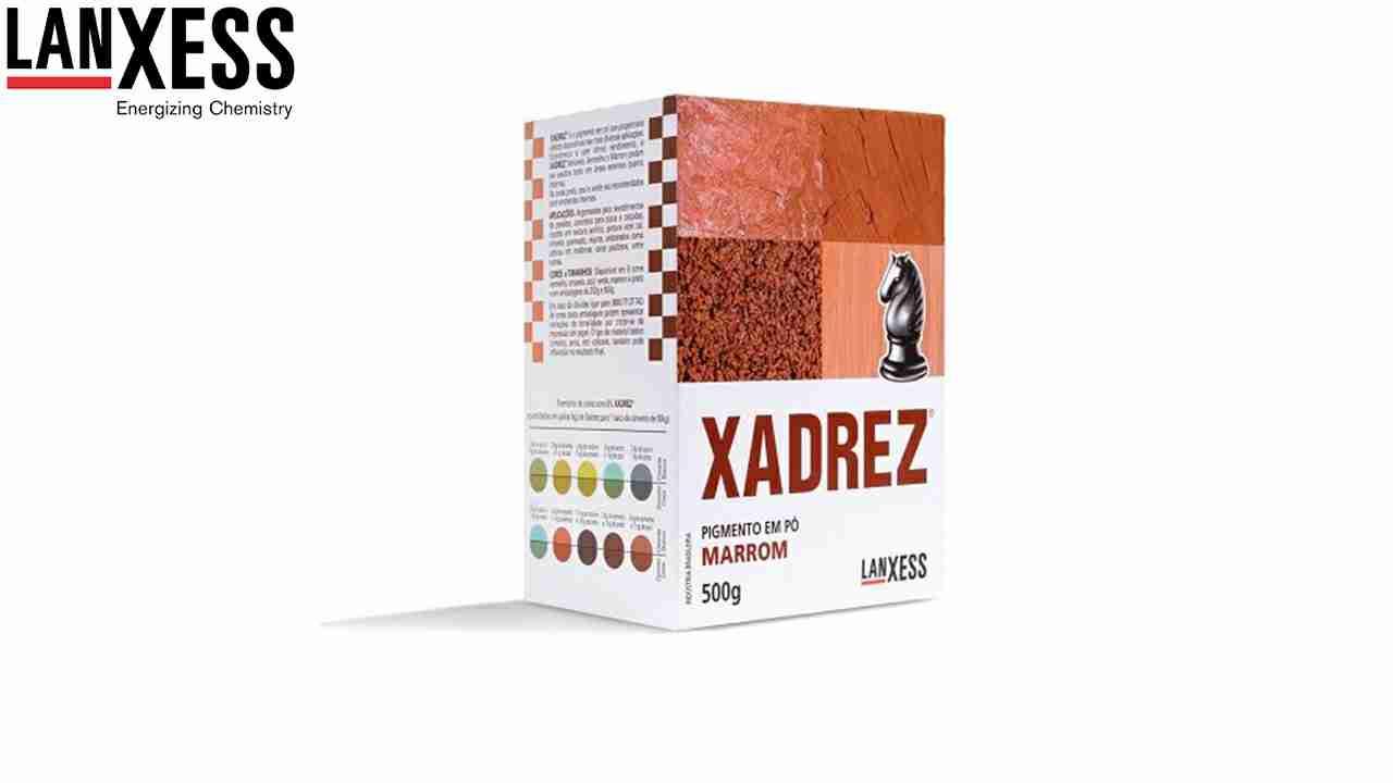 PIGMENTO XADREZ LANXESS 500G MARROM