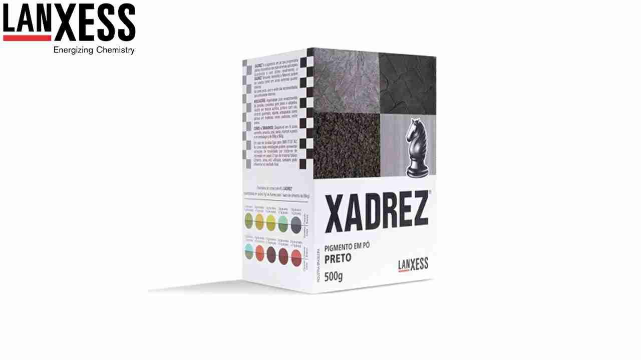 PIGMENTO XADREZ LANXESS 500G PRETO