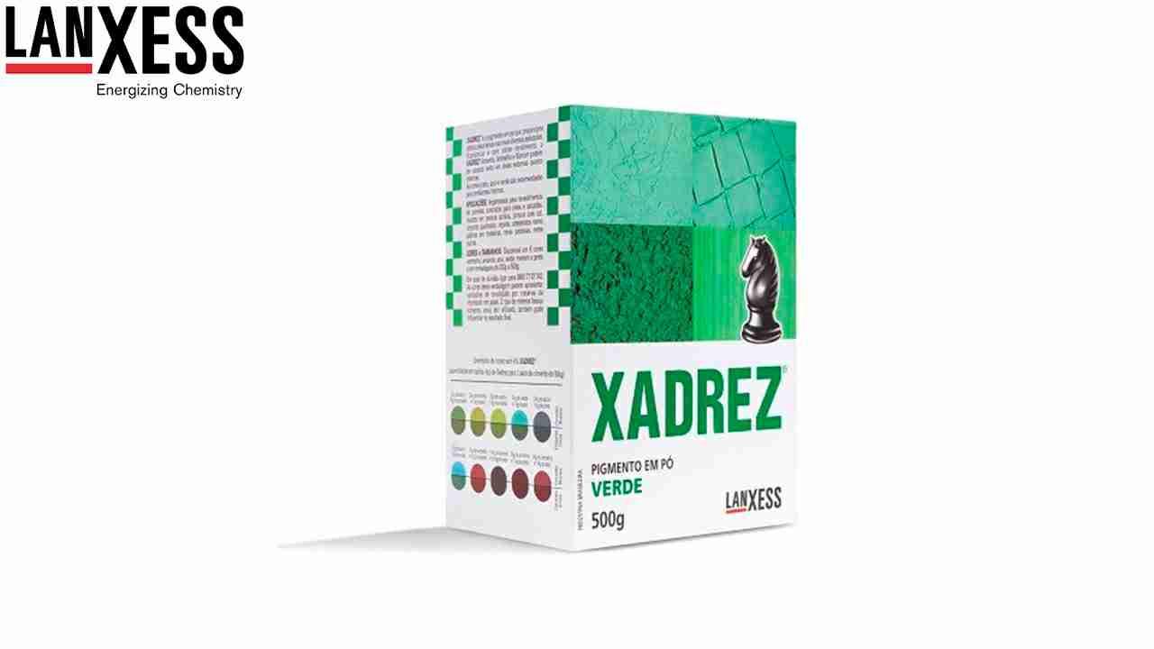 PIGMENTO XADREZ LANXESS 500G VERDE