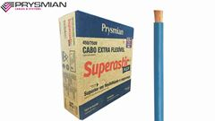 CABO FLEXÍVEL SUPERASTIC 2.5MM² BRANCO 450/750V ROLO C/100