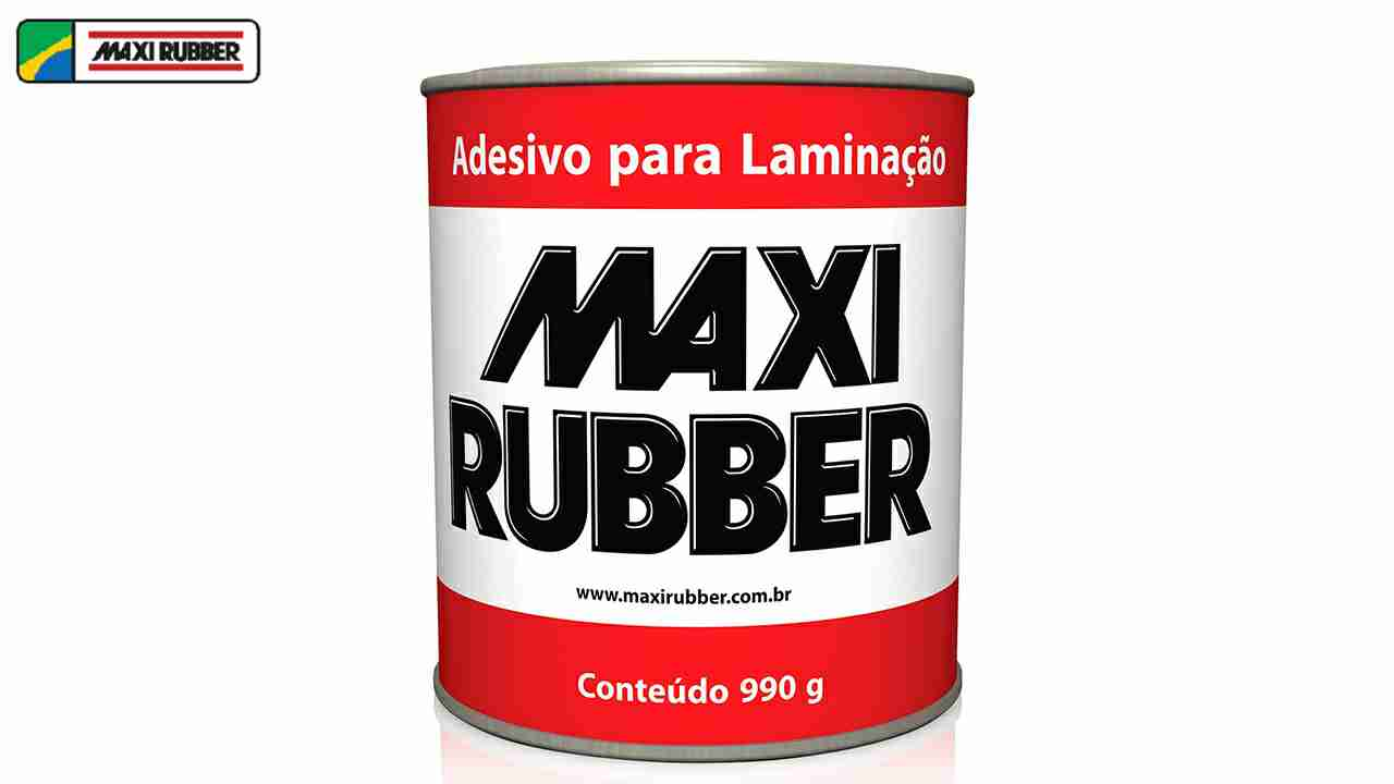 ADESIVO PARA LAMINACAO MAXI RUBBER+CATALISADOR 990G