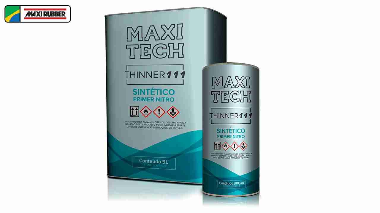 THINNER 111 SIN.PRIMER MAXI RUBBER 900LT