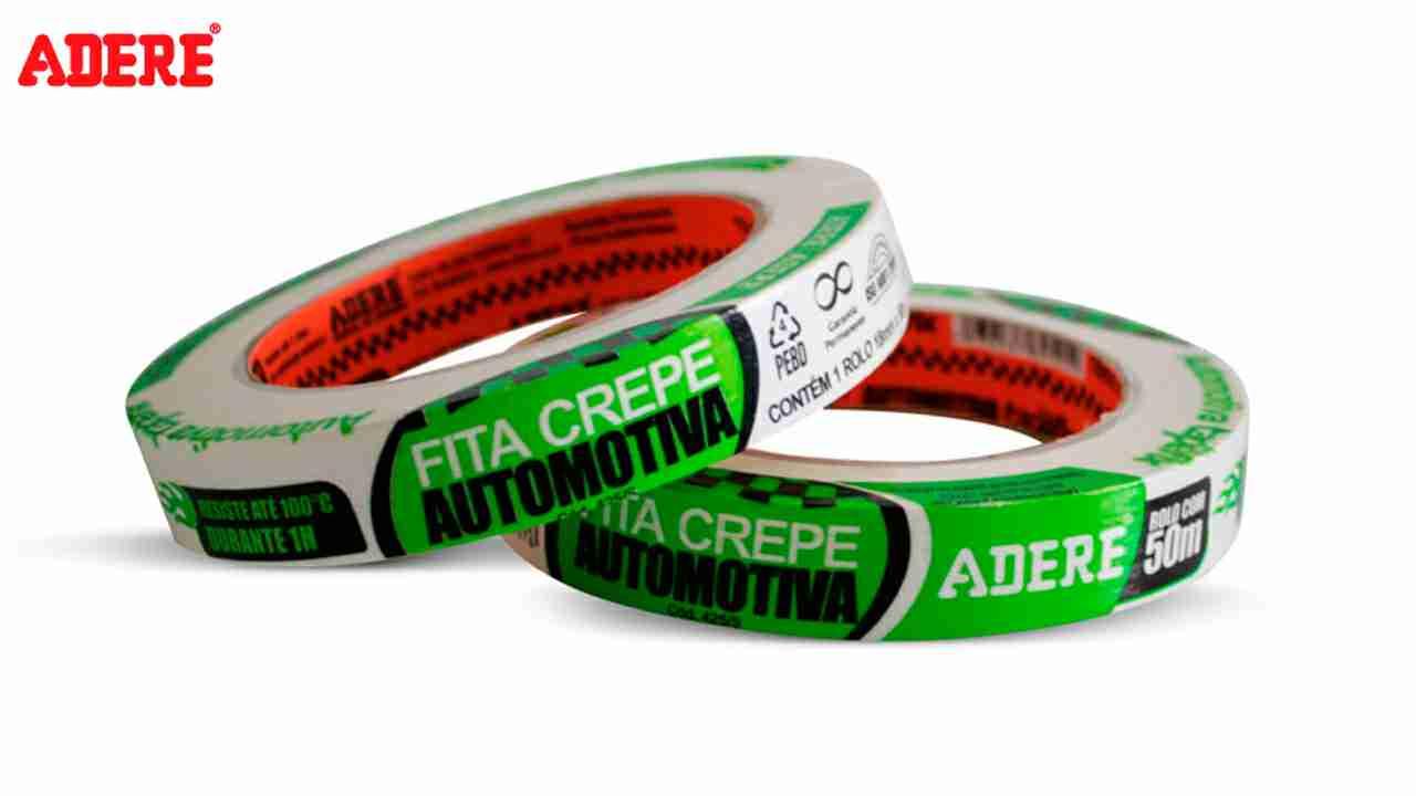 FITA CREPE ADERE AUTOMOTIVO PRO 18X50