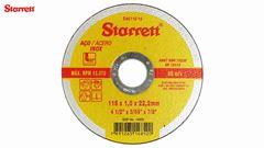 DISCO CORTE FERRO 4.1/2X3/64X7/8 - STARRETT