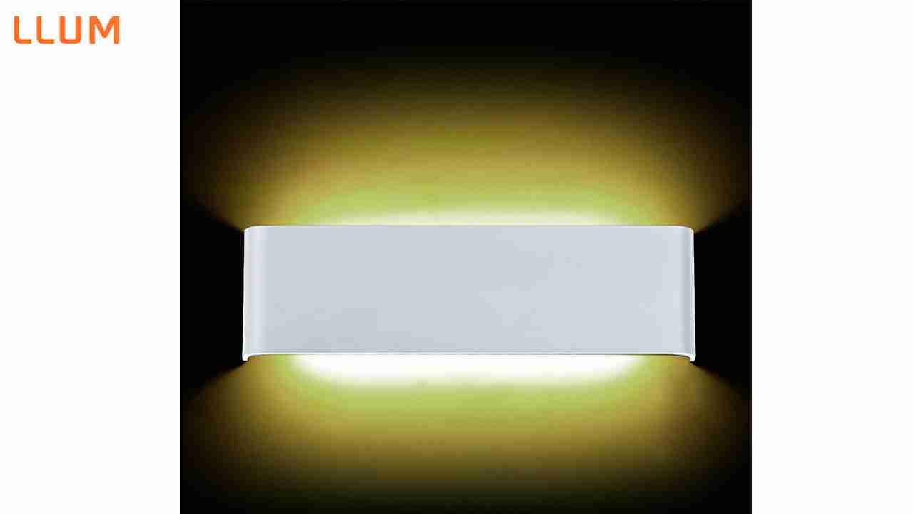 ARANDELA DE LED LLUM 12W BRANCO 30X09 BIVOLT