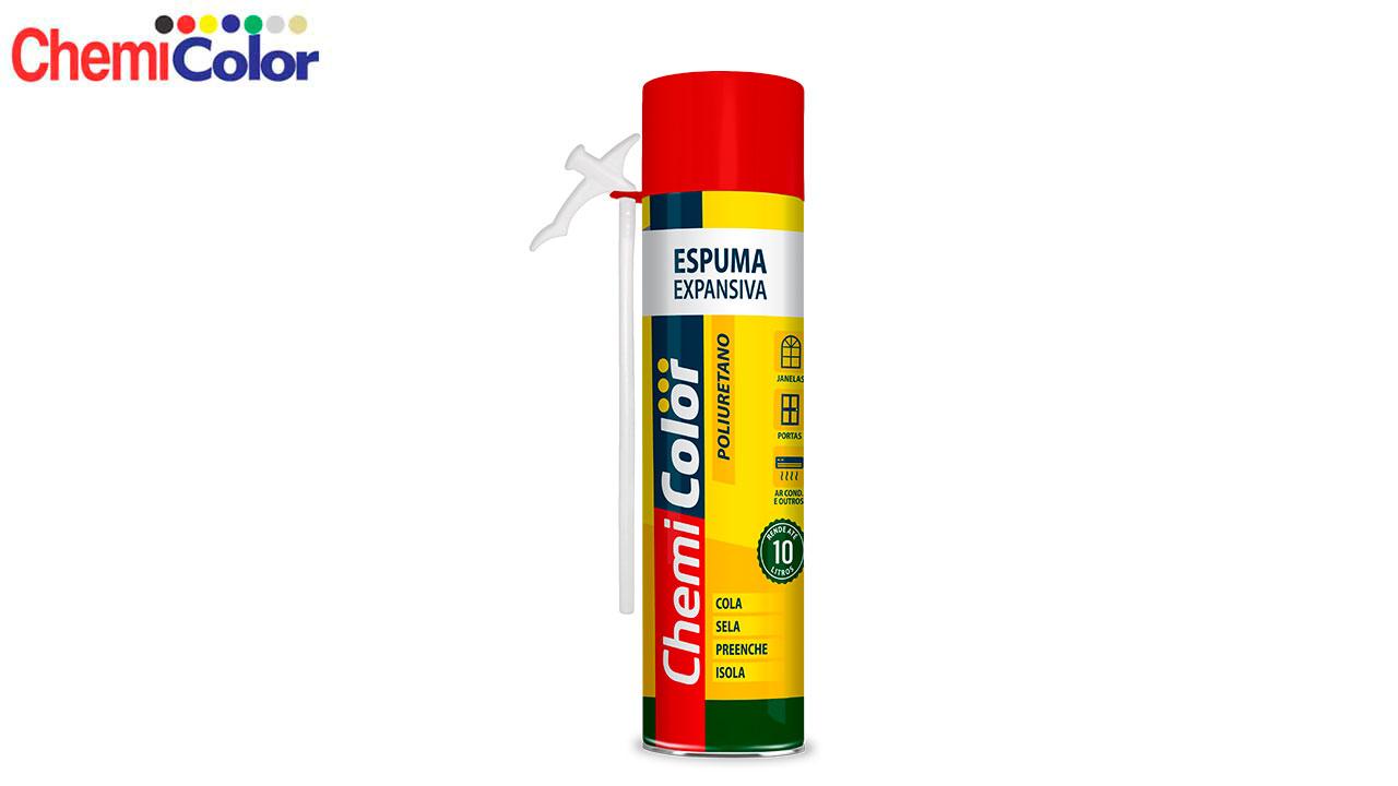 ESPUMA EXPANSIVA CHEMICOLOR 310G/500ML