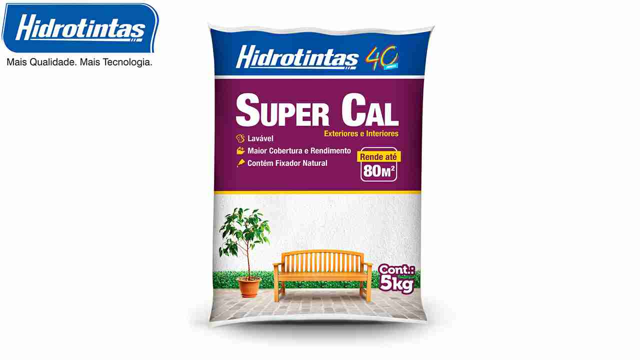 CAL SUPER REFINADO HIDROTINTAS C/5KG