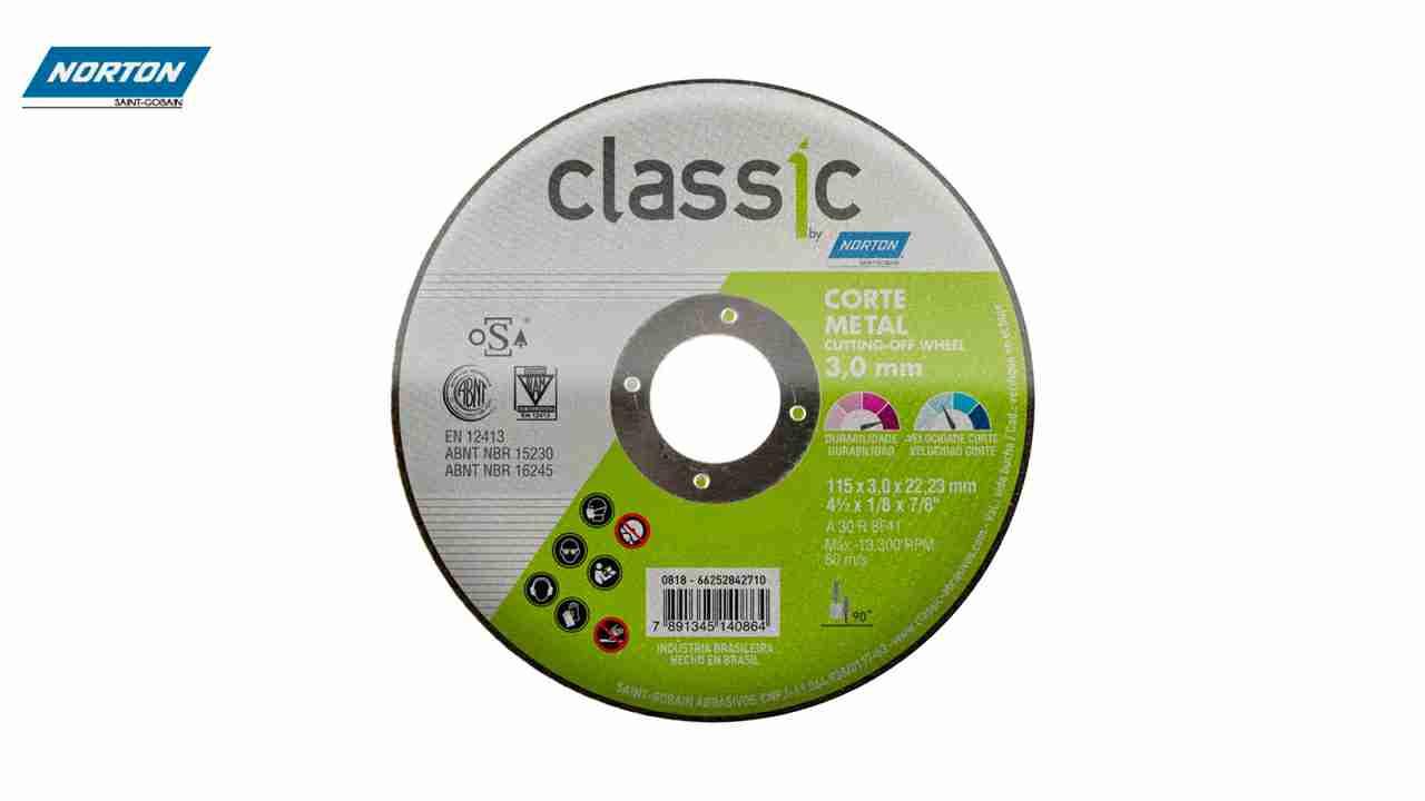 DISCO CORTE NORTON CLASSIC 7X1/8X7/8