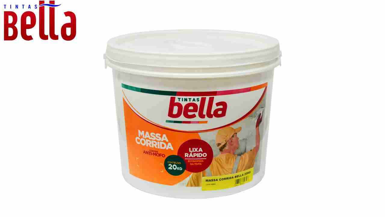 MASSA CORRIDA TINTAS BELLA BALDE C/20KG